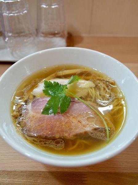 「鶏そば…750円、ミニ生親子丼…500円」@麺道 夢幻の写真