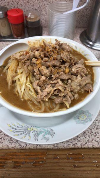 「味噌肉タンメン」@みそ一発 多摩川店の写真