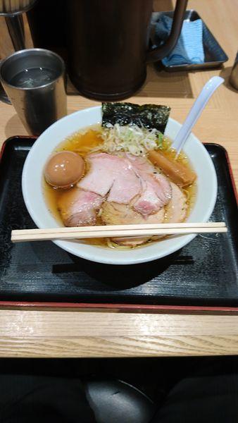 「特製味玉」@松戸富田麺業の写真