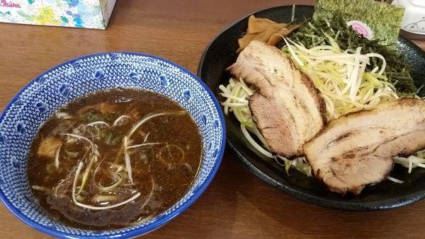 「ネギつけそば 950円」@麺屋こうきの写真