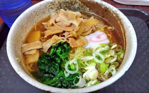 「肉ラーメン」@かしわや 武蔵小杉店の写真