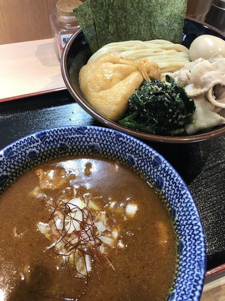 「「夏季限定  」特製旨辛つけ麺」@らー麺土俵 鶴嶺峰の写真