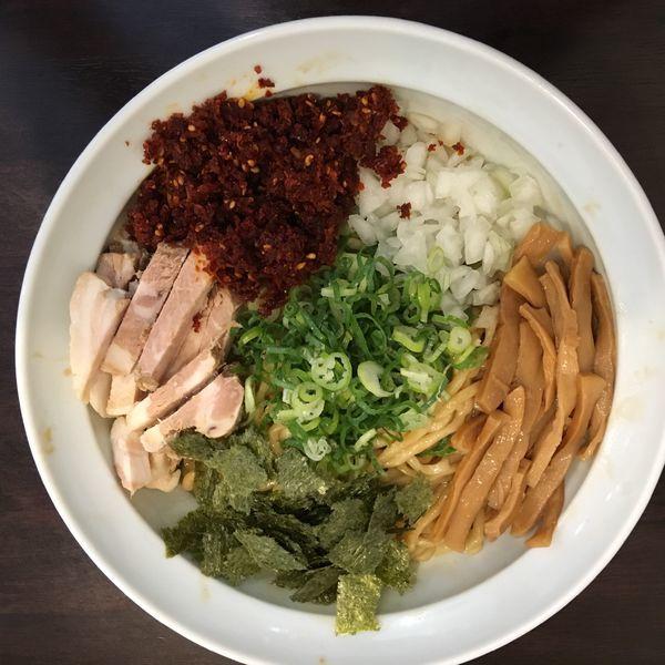 「油そば」@ラーメン 月麺の写真