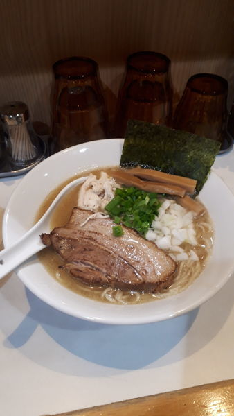 「濃厚塩ラーメン」@麺屋 扇 SENの写真