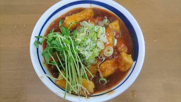 「【菊月限定】俺のワンタンチリソースW ¥2300-」@MENYA 食い味の道有楽の写真
