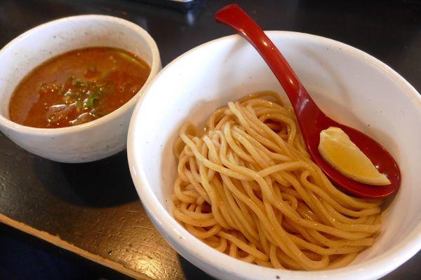 「牛ホルモンつけ麺¥870」@麺専門店 つけ麺屋ちっちょの写真
