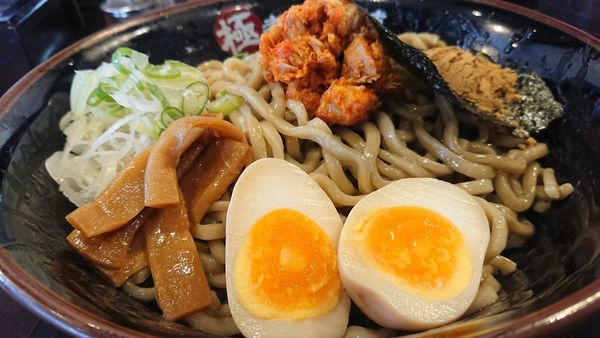 「煮干しまぜそば」@極煮干し本舗 東松山店の写真