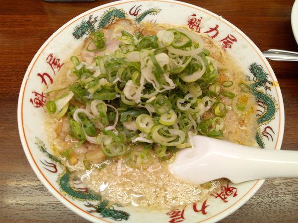 「特製醤油ラーメン」@魁力屋 越谷店の写真