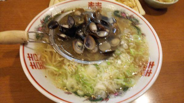 「しじみラーメン」@麺'sダイニング トタン屋の写真