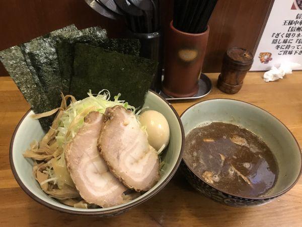 「特製つけそば」@麺屋蕪村の写真