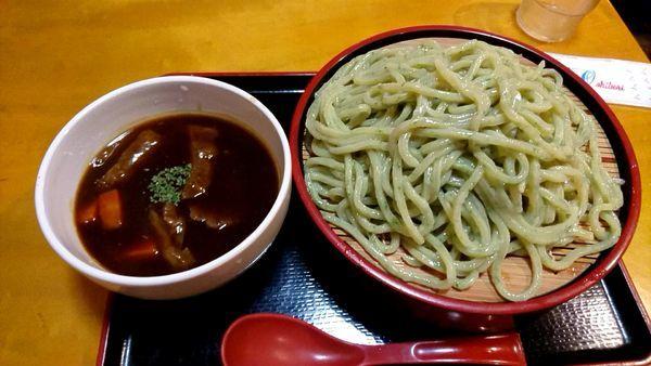 「デミグラスつけ麺 850円」@牛骨ロックの写真