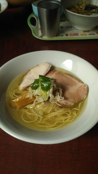 「地鶏そば 塩」@麺屋 むじゃきの写真