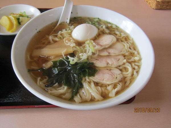 「菊屋らーめん850円手打ち麺」@自家製ラーメン 菊屋食堂の写真
