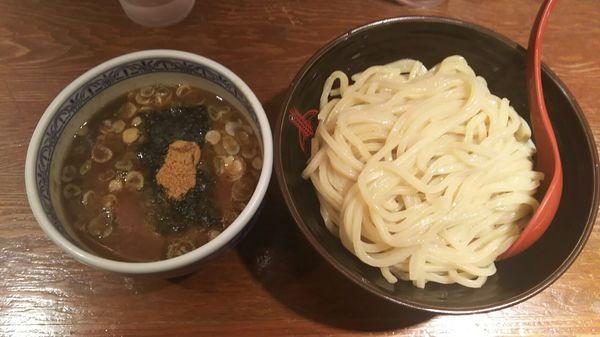 「つけ麺 中」@つけ麺専門店 三田製麺所 渋谷道玄坂店の写真