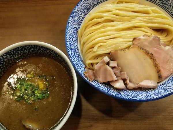 「極濃煮干しつけ麺(特盛)」@煮干しつけ麺 宮元の写真