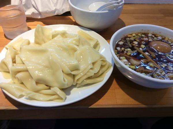 「つけ麺(玉子)凄平麺大盛り」@らぁめん りきどうの写真