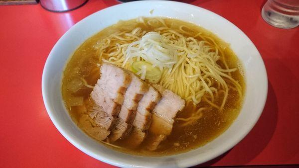 「比内鶏肉そば中 850円」@自家製麺 伊藤 浅草店の写真