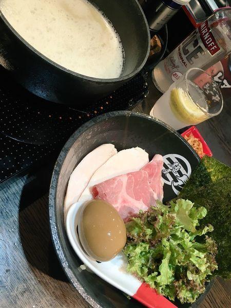 「濃厚鶏白湯(塩)」@麺屋 時茂 西川口店の写真