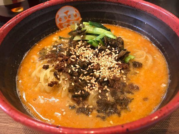 「超濃厚汁有り坦々麺 1,100円」@TEN TENとTAN TAN 岐阜店の写真