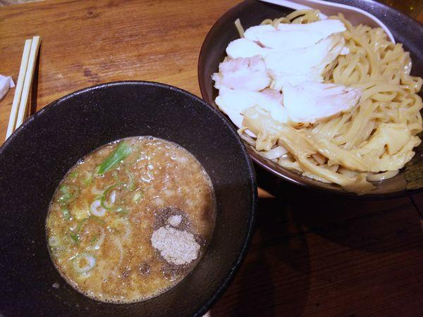 「【数量限定】濃厚煮干つけそば 大盛 950円」@麺屋 美風 戸越銀座店の写真