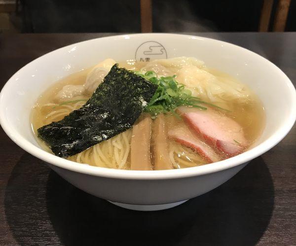 「特製ワンタン麺 ¥1100」@八雲の写真