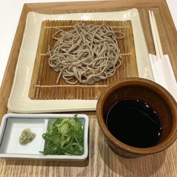 「ハーフもりそば(¥500)」@石臼挽き蕎麦 あずみ野の写真