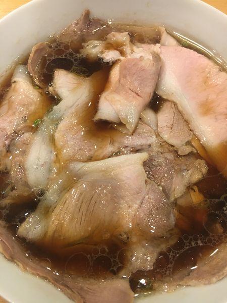 「醤油らーめんポーク¥800」@西梅田 らんぷの写真