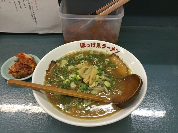 「ぼっけゑ味噌ラーメン(¥700)」@ぼっけゑラーメンの写真