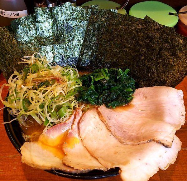 「チャーシュー麺 海苔&ネギ」@末廣家の写真