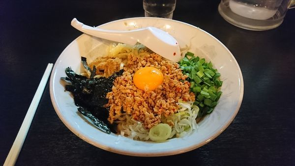 「台湾まぜそば」@麺とび六方 茅野店の写真