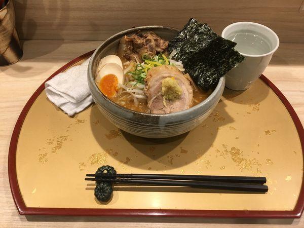 「特製 炙り濃厚味噌」@麺屋 音 別邸の写真