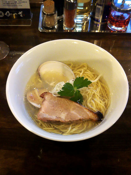 「純はまぐりそば¥1000」@活龍 期間限定麺処 みつきの写真