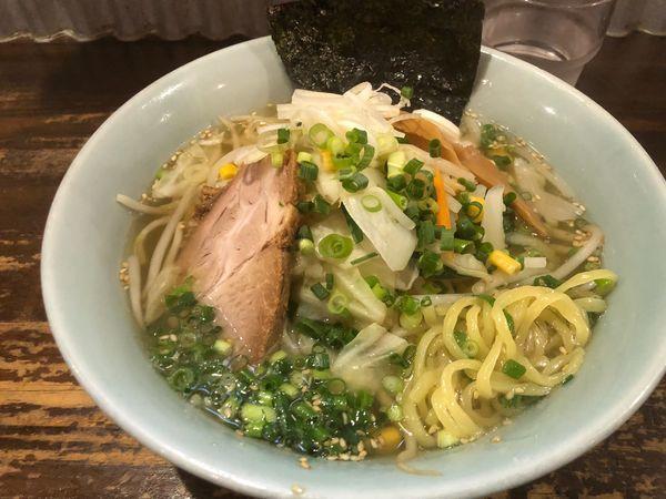 「野菜塩ラーメン850円」@ごう家の写真