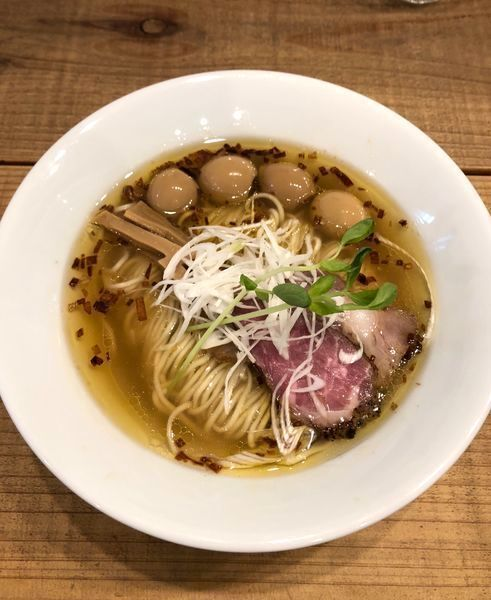 「うずらの味玉 Kiri_Soba(潮) ¥900」@The Noodles & Saloon Kiriyaの写真