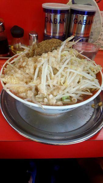 「大ラーメン750円全増し」@麺でる 戸越店の写真
