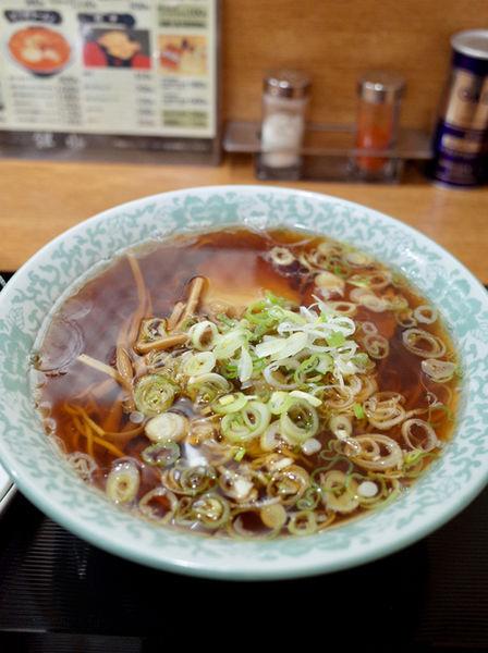 「醤油ラーメン…660円」@銀水の写真