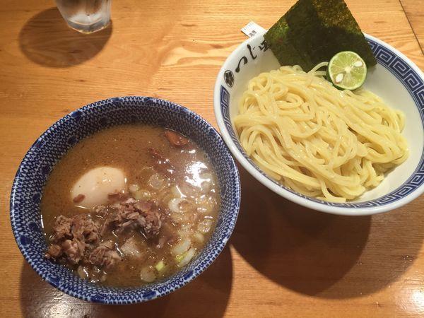 「濃厚豚崩しつけ麺」@つじ田 日本橋八重洲店の写真