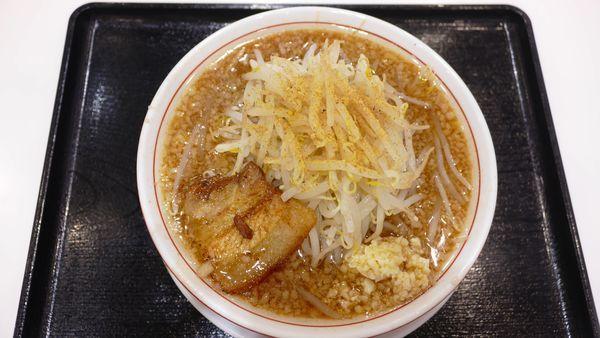 「こってりもやしそば¥790/野菜普通¥0」@本場博多とんこつラーメン 神 サニーアクシスいの店の写真