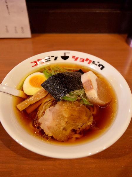 「なま味しょうゆらーめん…800円」@コクミンショクドウの写真