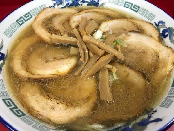 「肉そば(¥800)」@来味 東堀店の写真