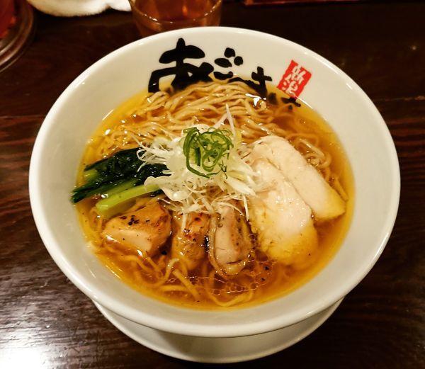 「旨塩鶏麺 850円」@麺屋 あごすけの写真