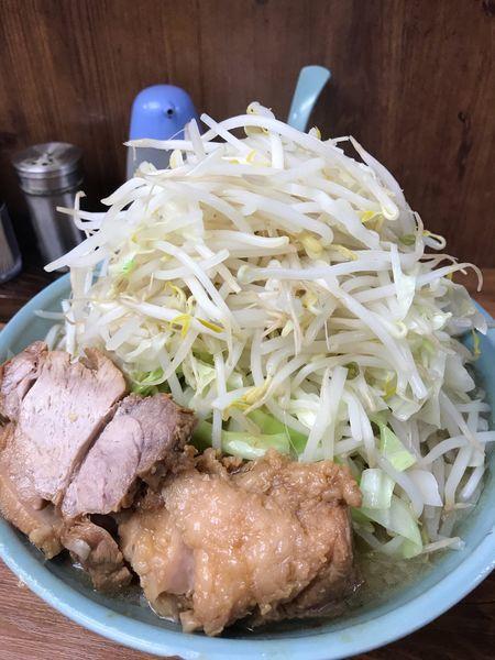 「大豚ラーメン」@ラーメン二郎 池袋東口店の写真