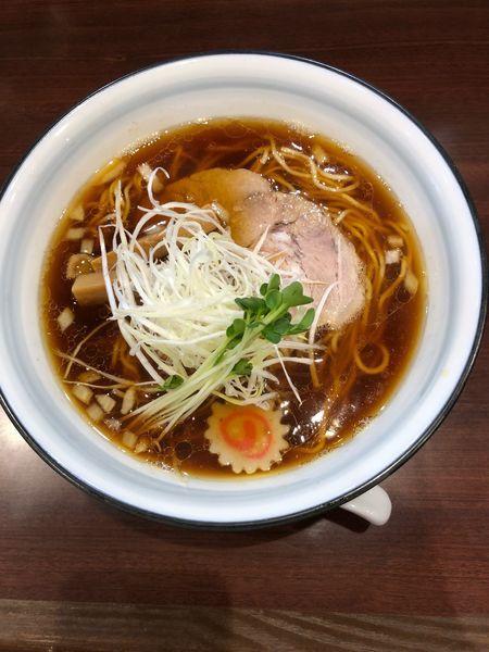 「和出汁 醤油らーめん 700円」@らーめんつけ麺 吉田商店 本店の写真