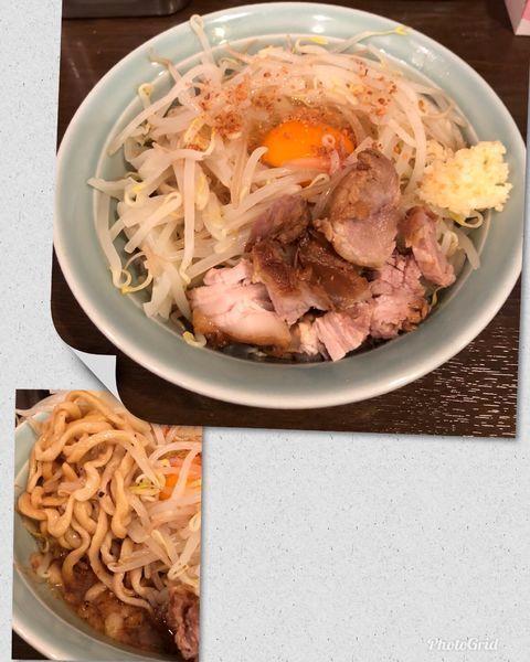 「あえそば ¥780 (麺少なめで)」@麺や あかつきの写真