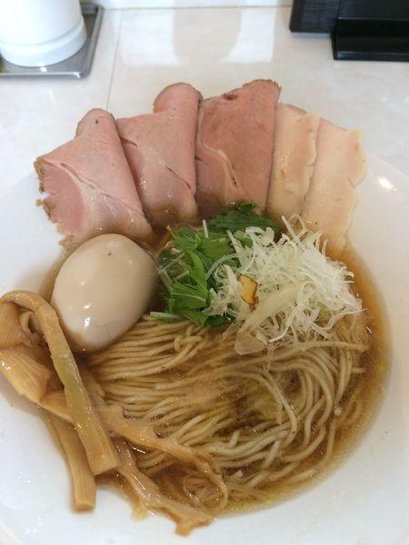「特製醤油そば980円」@noodle kitchen KYOの写真
