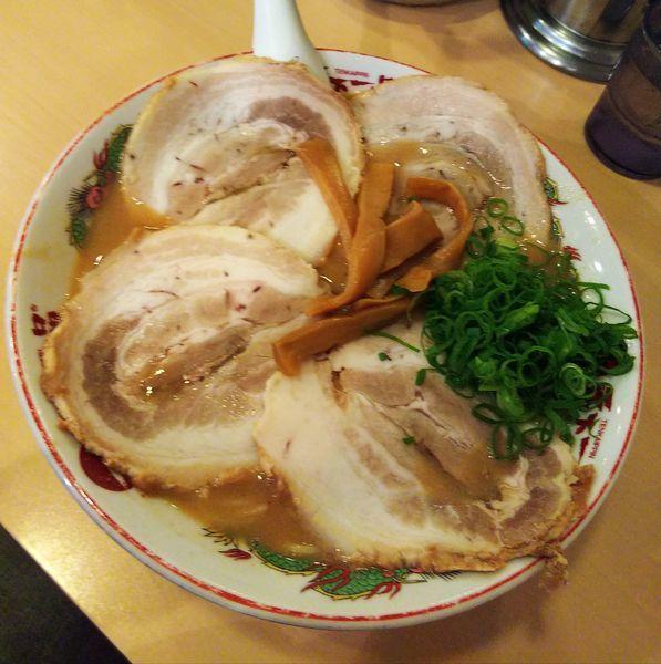 「チャーシュー麺(大)」@天下一品 神田店の写真