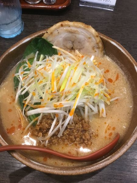 「信州味噌 タンタン麺 800円」@味噌屋庄助の写真