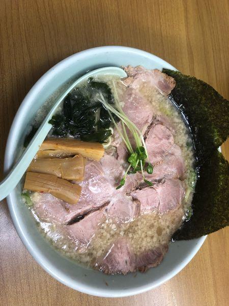 「醤油チャーシュー麺」@ラーメンショップ 卒島店の写真