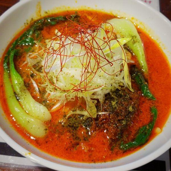 「【限定】担々麺(ちぢれ麺)850円」@麺や 千成の写真