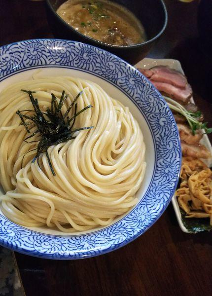 「チャーシューつけ麺(魚介)(大盛り)」@麺処 ほん田 nijiの写真